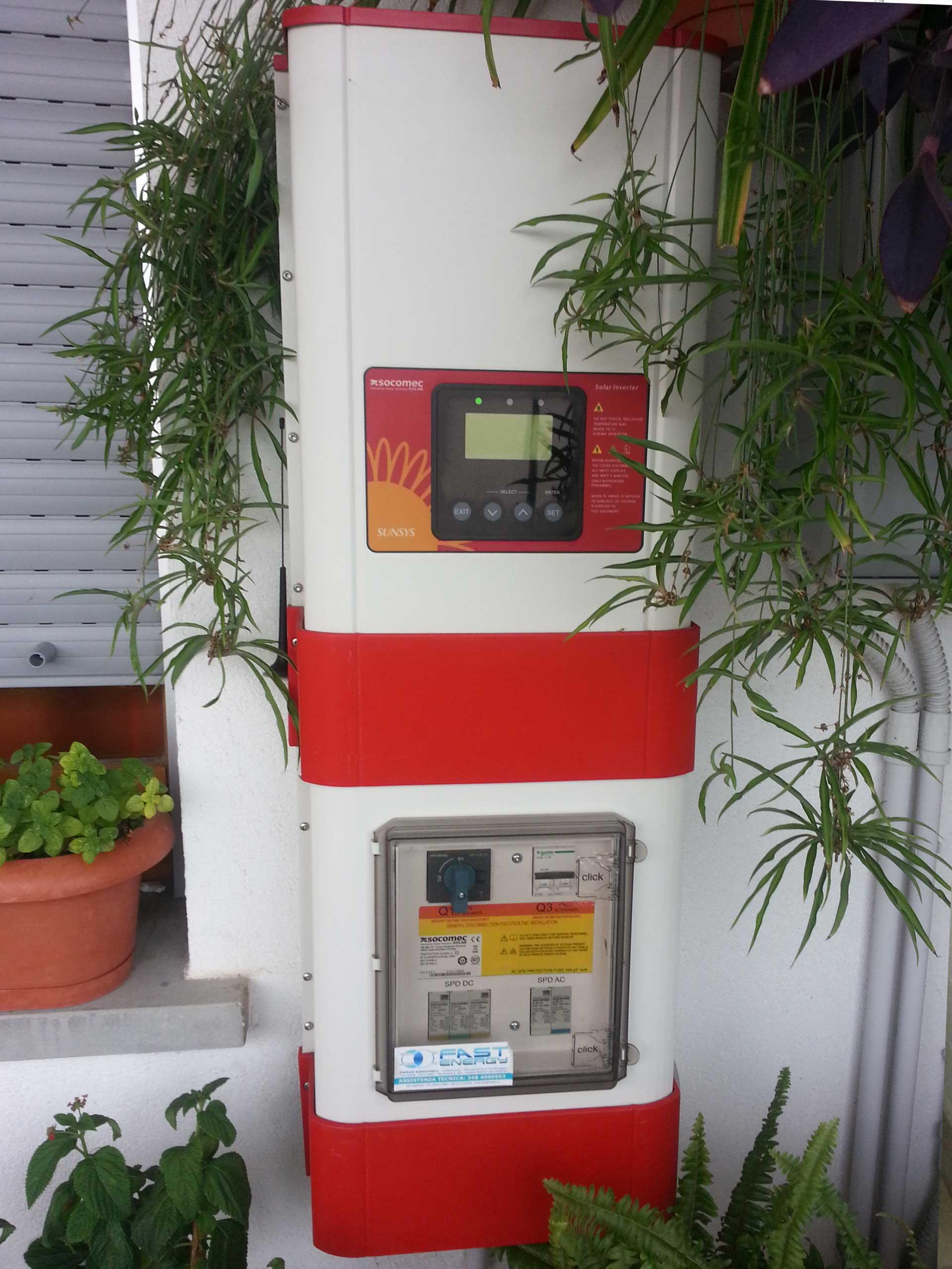 Inverter-solare-installazione
