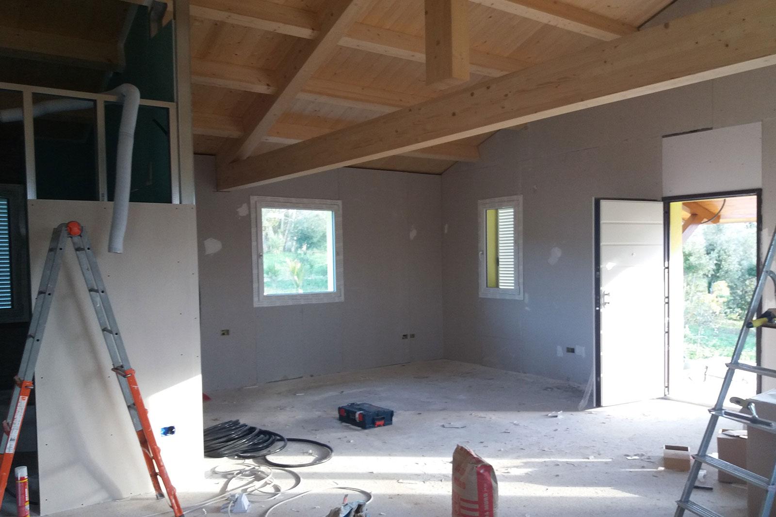 Costruzione case in legno numana