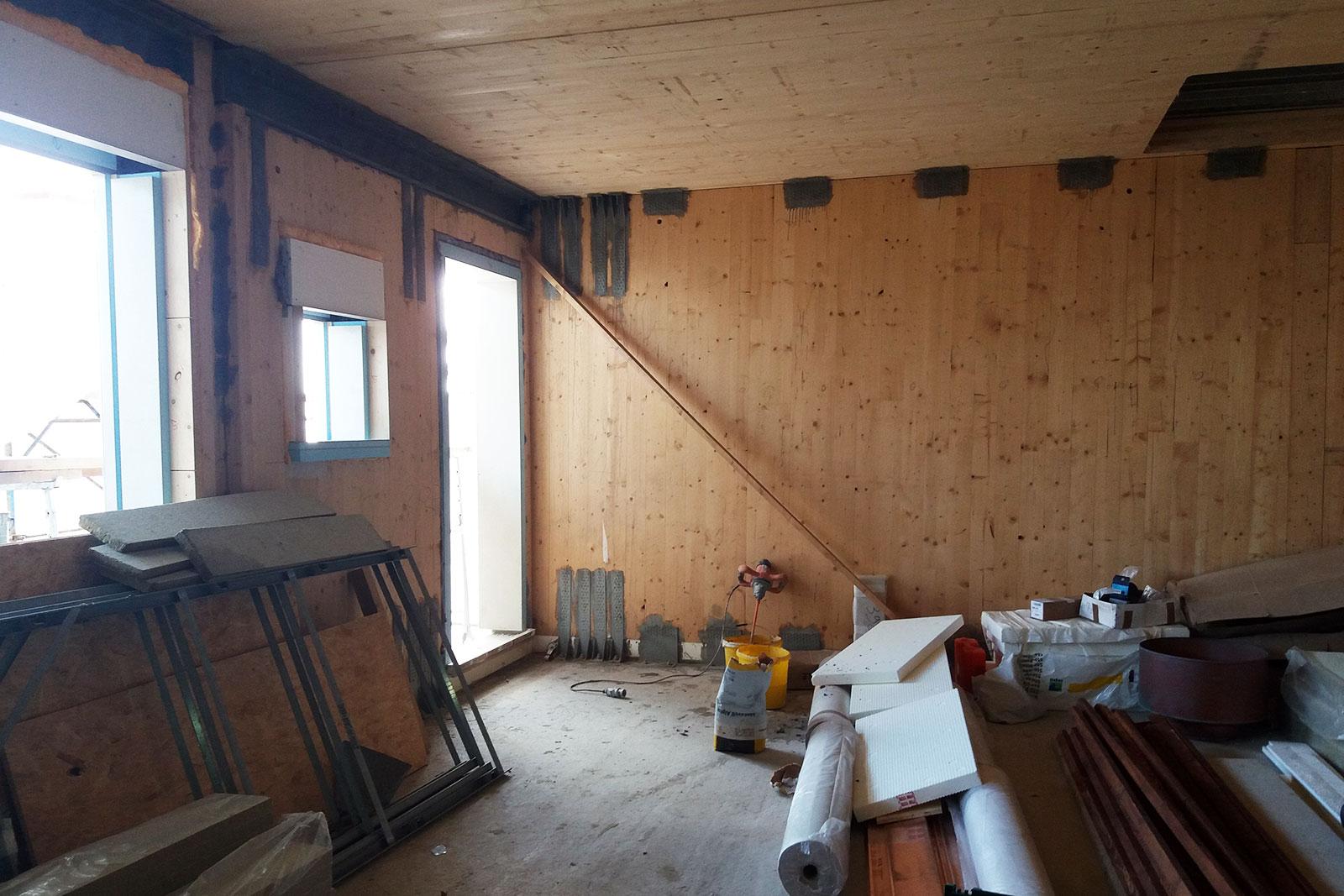 Struttura edilizia in legno