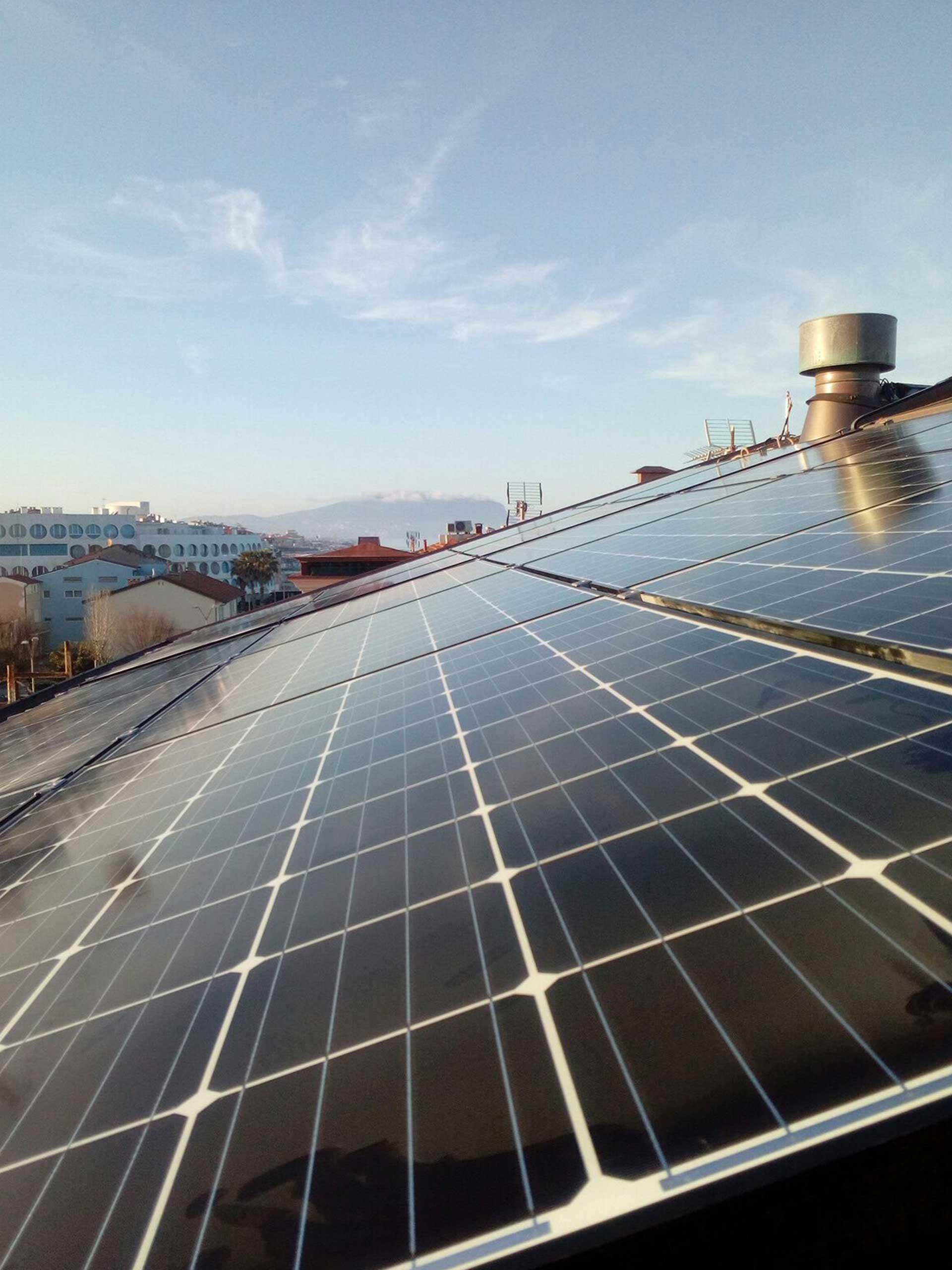 Impianto Fotovoltaico Case in Legno Porto Recanati